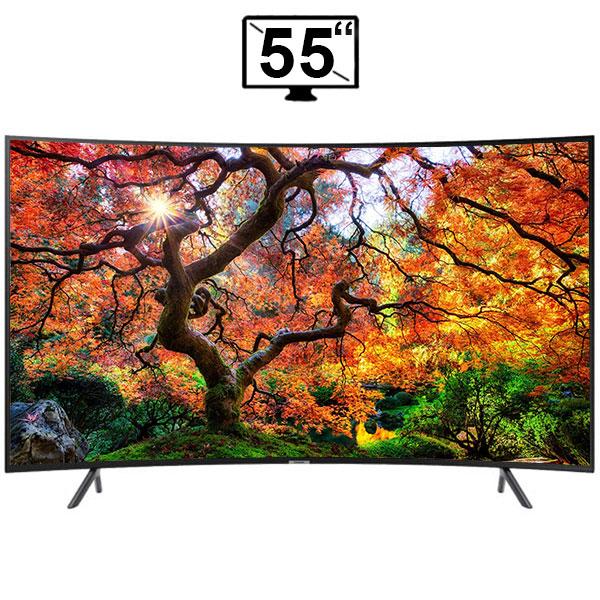 تلویزیون 4K منحنی سامسونگ مدل NU7300 سایز 55 اینچ