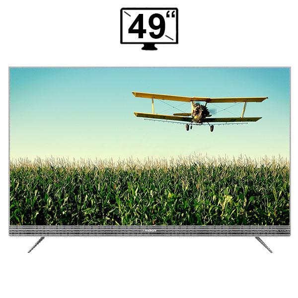 تلویزیون هوشمند ال ای دی ایکس ویژن مدل 49XTU735 سایز 49 اینچ 4K