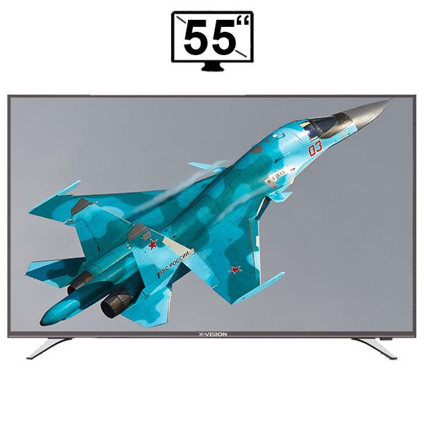 تلویزیون ال ای دی هوشمند ایکس ویژن مدل 55XT515 کیفیت تصویر Full HD