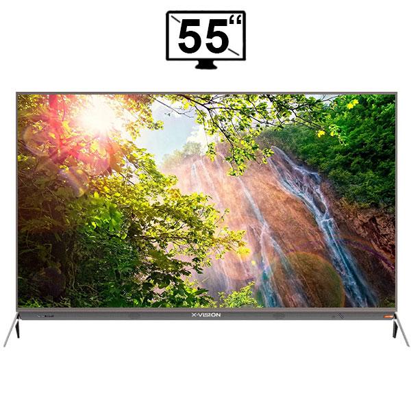 تلویزیون ال ای دی اسمارت ایکس ویژن مدل 55XKU635 سایز 55 اینچ 4K