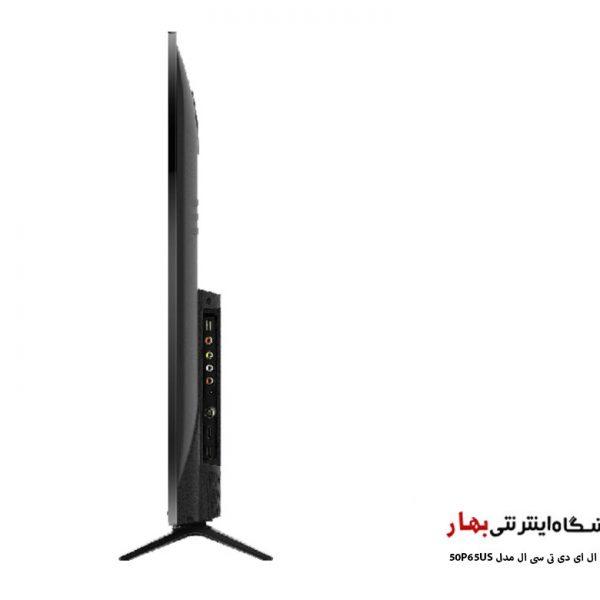 تلویزیون ال ای دی هوشمند تی سی ال مدل 50P65US سایز 50 اینچ