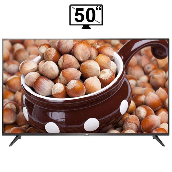 تلویزیون ال ای دی هوشمند تی سی ال مدل 50P65US سایز 50 اینچ کیفیت تصویر 4K