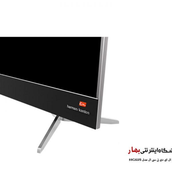 تلویزیون ال ای دی هوشمند تی سی ال مدل 55C2LUS کیفیت تصویر 4k
