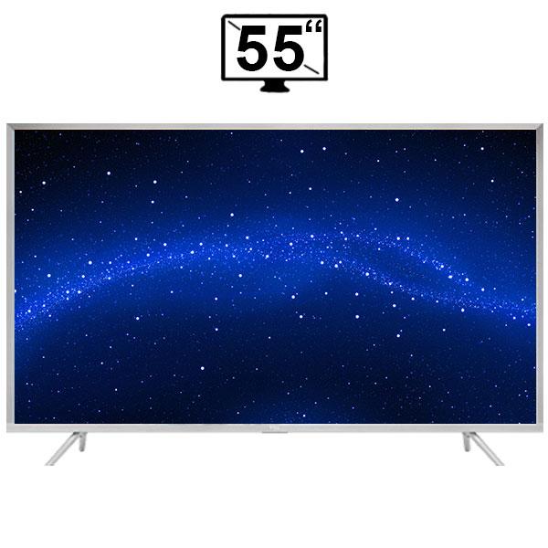 تلویزیون ال ای دی هوشمند تی سی ال مدل 55P2US سایز 55 اینچ کیفیت تصویر 4K