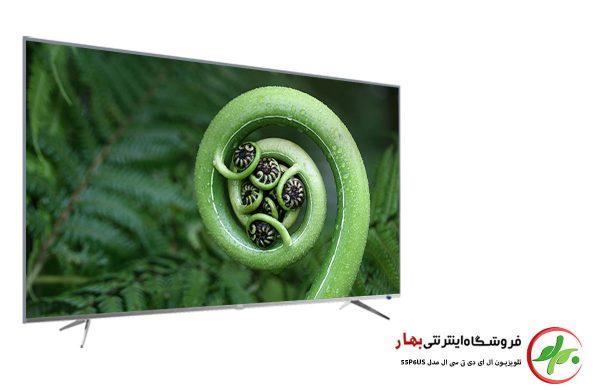 تلویزیون هوشمند تی سی ال مدل 55P6US سایز 55 اینچ کیفیت تصویر 4K