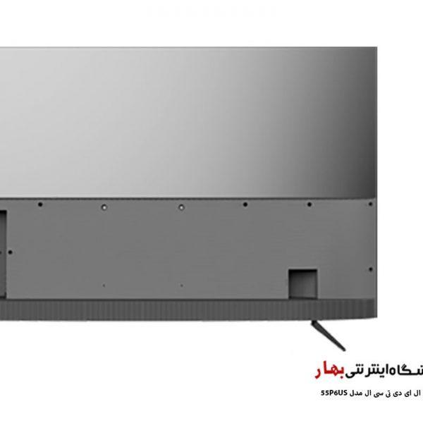 تلویزیون ال ای دی هوشمند تی سی ال مدل 55P6US
