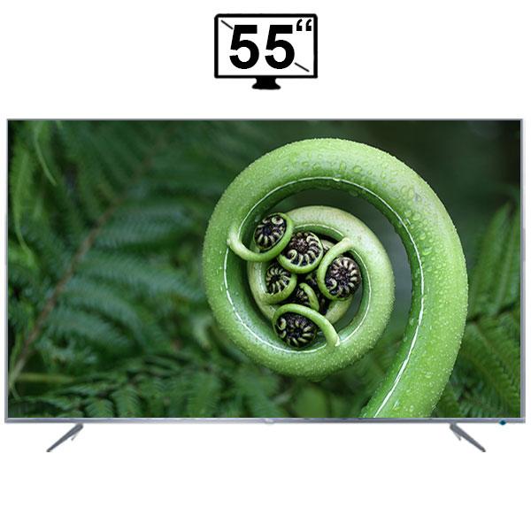 تلویزیون ال ای دی هوشمند تی سی ال مدل 55P6US سایز 55 اینچ کیفیت تصویر 4K