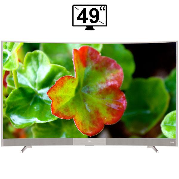 تلویزیون ال ای دی هوشمند تی سی ال مدل 49P3CF منحنی سایز 49 اینچ FULL HD