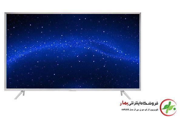 تلویزیون هوشمند تی سی ال مدل 55P2US سایز 55 اینچ کیفیت تصویر 4K