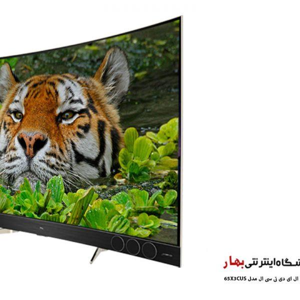 تلویزیون ال ای دی هوشمند تی سی ال مدل 65X3CUS منحنی سایز 65 اینچ