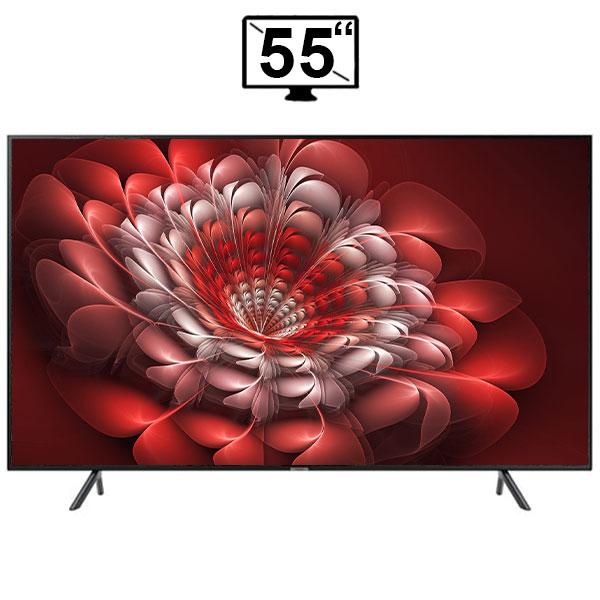 تلویزیون ال ای دی هوشمند سامسونگ 55 اینچ مدل 55RU7105 سری 7 کیفیت 4k اولترا اچ دی