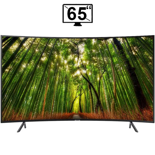 تلویزیون ال ای دی منحنی هوشمند سامسونگ 65 اینچ مدل 65RU7300 سری 7 کیفیت 4k اولترا اچ دی