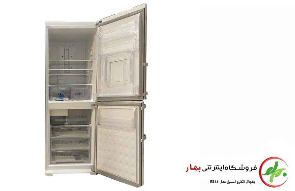 یخچال فریزر الکترواستیل مدل ES35 یخسازدار