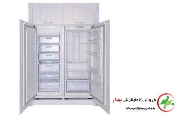یخچال دوقلو کابینتی هیمالیا